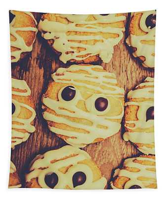 Homemade Mummy Cookies Tapestry