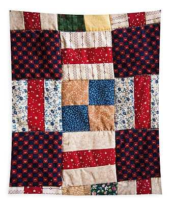 Homemade Quilt Tapestry