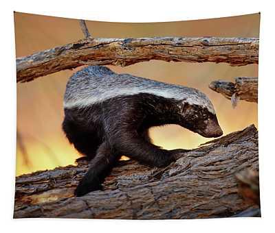 Honey Badger  Tapestry