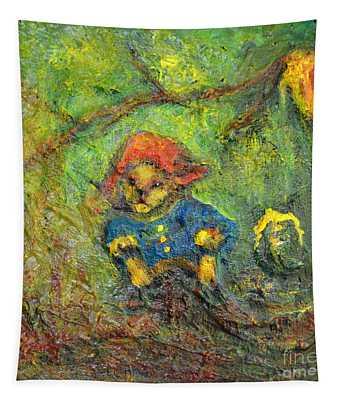 Honey Bear Tapestry