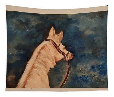 Honey Palomino Horse 28 Tapestry