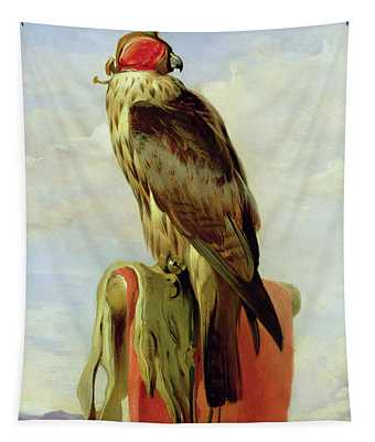 Hooded Falcon Tapestry