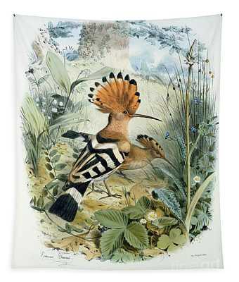 Hoopoe Tapestry