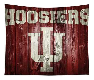 Hoosiers Barn Door Tapestry