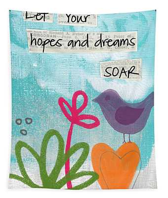 Hopes And Dreams Soar Tapestry