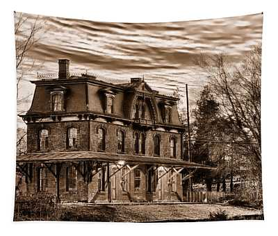 Hopewell Station Tapestry