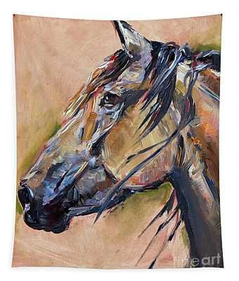 Horse Head Tapestry