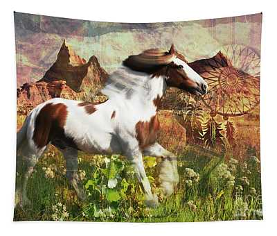 Horse Medicine 2015 Tapestry