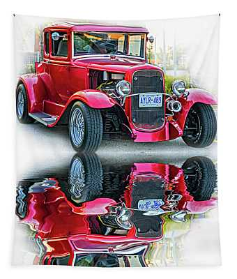 Hot Rod - Reflection Tapestry