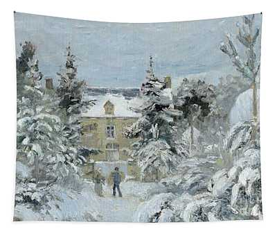 House At Montfoucault Tapestry