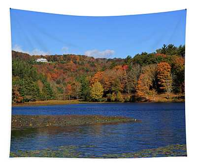 House In The Mountains Tapestry