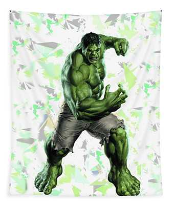Hulk Splash Super Hero Series Tapestry