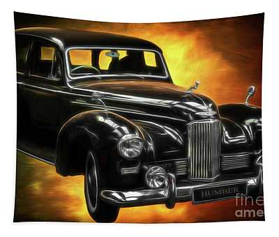 Humber Pullman Limousine  Tapestry