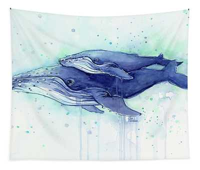 Whale Wall Tapestries