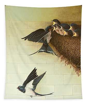 Hungry Mouths Tapestry