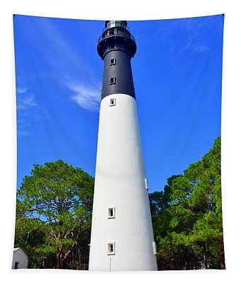 Hunting Island Lighthouse Beaufort Sc Tapestry