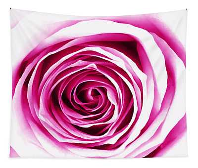 Hypnotic Pink Tapestry