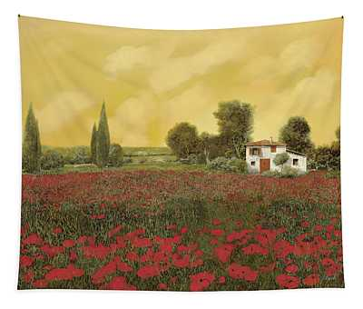 I Papaveri E La Calda Estate Tapestry