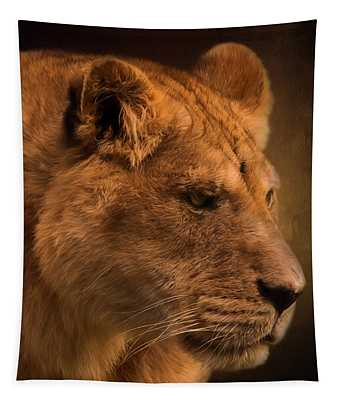 I Promise - Lion Art Tapestry