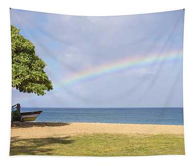 I Want To Be There Too - North Shore Oahu Hawaii Tapestry