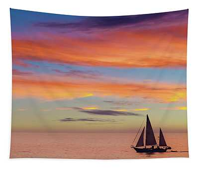 I Will Sail Away, And Take Your Heart With Me Tapestry