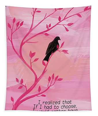 I Would Rather Have Birds Tapestry