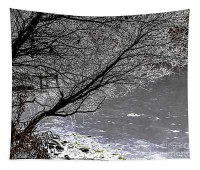 Iced Tree Tapestry
