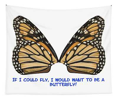 If I Could Fly Tapestry