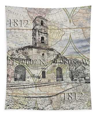 Iglesia De Santa Ana Passport Tapestry