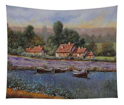 Il Borgo Tra Le Lavande Tapestry