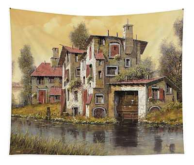Il Mulino Giallo Tapestry