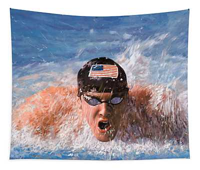 Swimming Pool Wall Tapestries