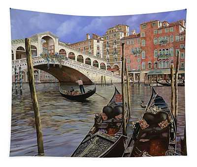 Il Ponte Di Rialto Tapestry