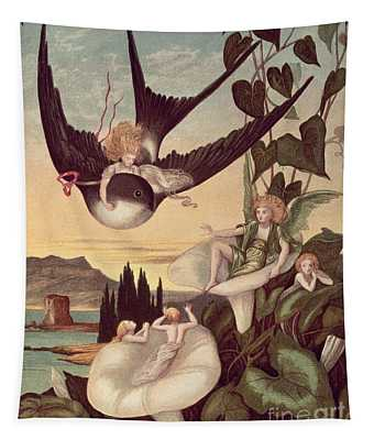 Illustration To 'thumbkinetta' Tapestry