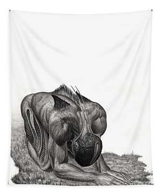 Impetus Graphite Tapestry