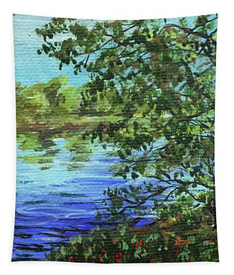 Impressionistic Landscape IIi Tapestry