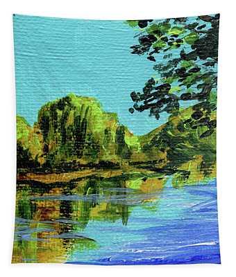 Impressionistic Landscape Ix Tapestry
