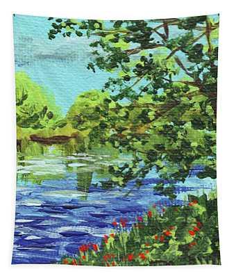 Impressionistic Landscape Vi Tapestry