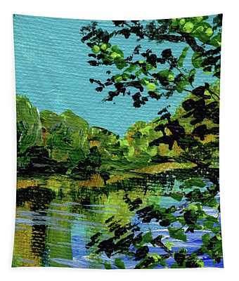 Impressionistic Landscape Vii Tapestry
