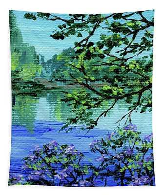 Impressionistic Landscape Xxi Tapestry