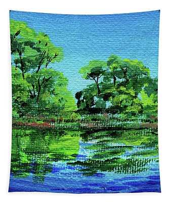 Impressionistic Landscape Xxiii Tapestry