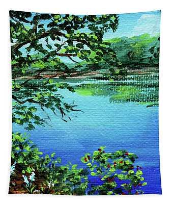 Impressionistic Landscape Xxv Tapestry