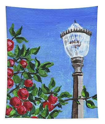 Impressionistic Landscape Xxxv Tapestry