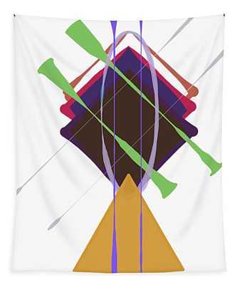 Improvised Geometry #3 Tapestry