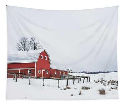 In A Rural Atmosphere Tapestry