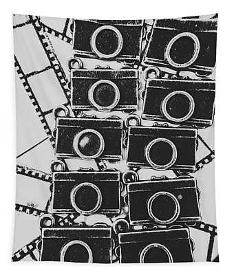 In Camera Art Tapestry