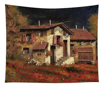In Campagna La Sera Tapestry