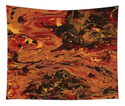 In Flames Tapestry