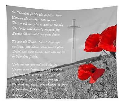 In Flanders Fields Tapestry