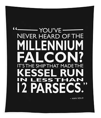In Less Than 12 Parsecs Tapestry